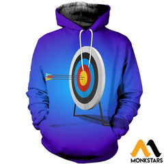 3D Printed Arrow Clothes Normal Hoodie / Xs