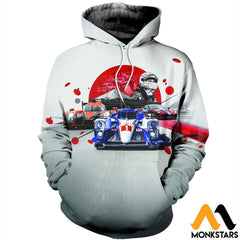 3D Printed Car Racing Clothes Normal Hoodie / Xs