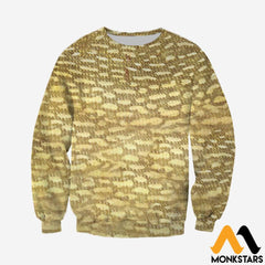 3D Printed Fish Skin Clothes Long-Sleeved Shirt / Xs