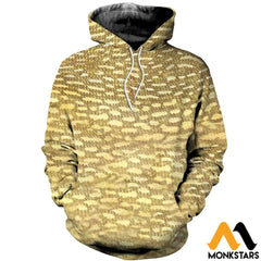 3D Printed Fish Skin Clothes Normal Hoodie / Xs