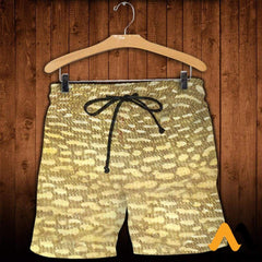 3D Printed Fish Skin Clothes Shorts / Xs