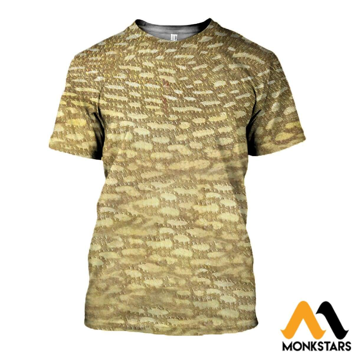 3D Printed Fish Skin Clothes T-Shirt / Xs