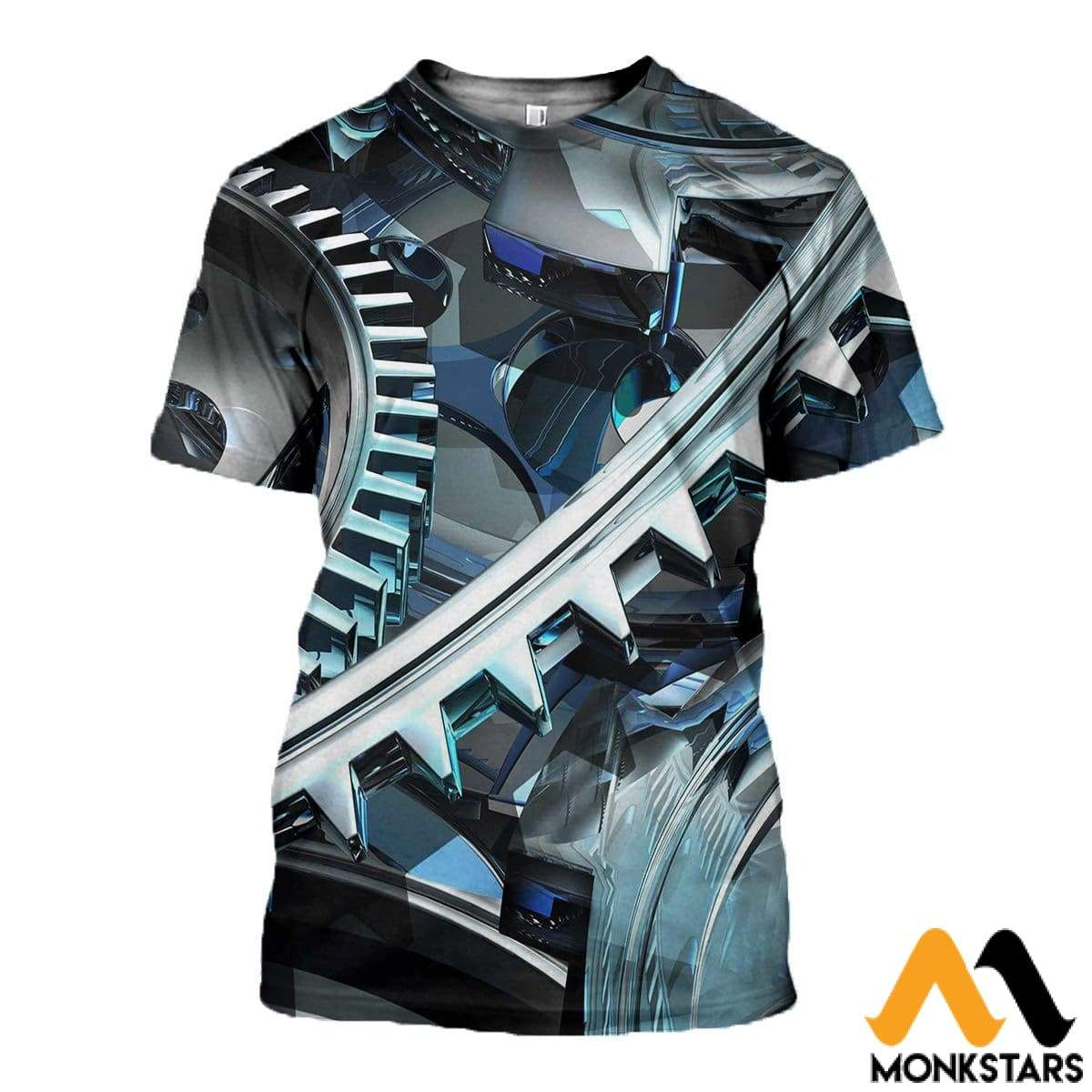 3D Printed Gear Clothes T-Shirt / Xs