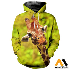 3D Printed Giraffe Clothes Normal Hoodie / Xs