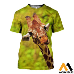 3D Printed Giraffe Clothes T-Shirt / Xs