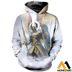 3D Printed God Of Light Clothes Normal Hoodie / Xs