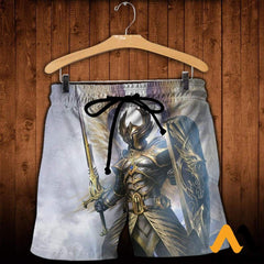 3D Printed God Of Light Clothes Shorts / Xs