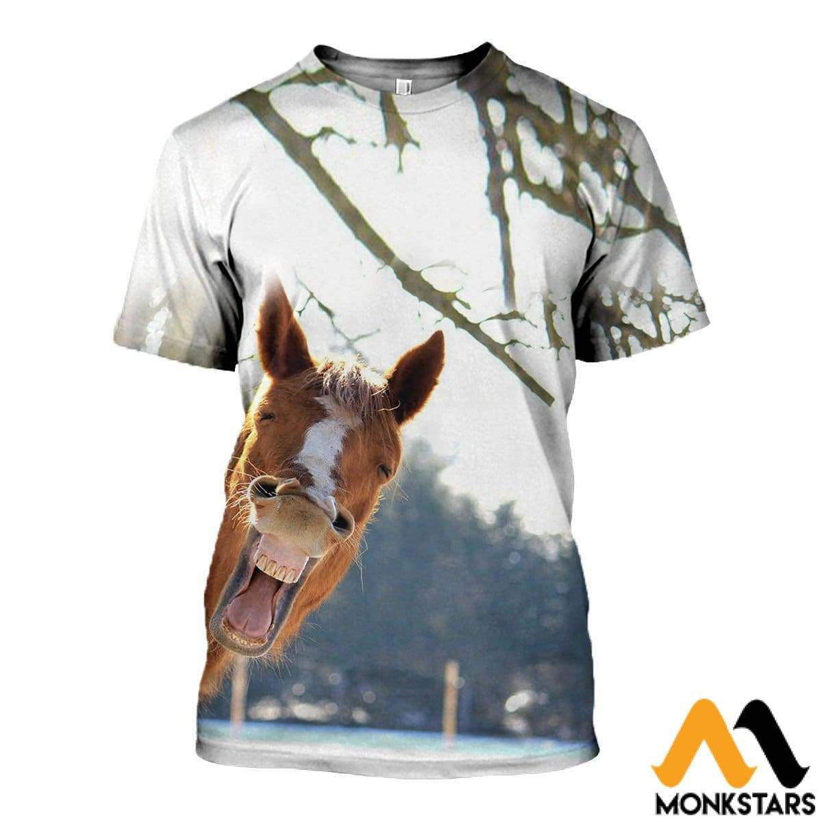 3D Printed Horse Clothes T-Shirt / Xs
