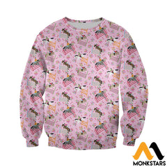 3D Printed Horse Racing Floral Clothes Long-Sleeved Shirt / Xs