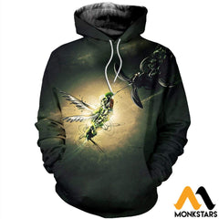 3D Printed Hummingbird Clothes Normal Hoodie / Xs