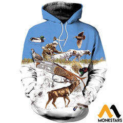3D Printed Hunting Clothes Normal Hoodie / Xs