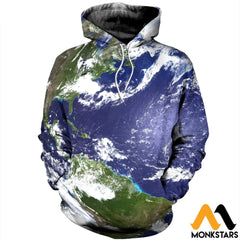 3D Printed Love Earth Clothes Normal Hoodie / Xs