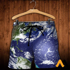 3D Printed Love Earth Clothes Shorts / Xs