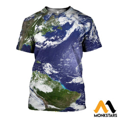 3D Printed Love Earth Clothes T-Shirt / Xs