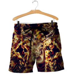 Deer Camo Hunting 3D All Over Printed Shirts For Men & Women