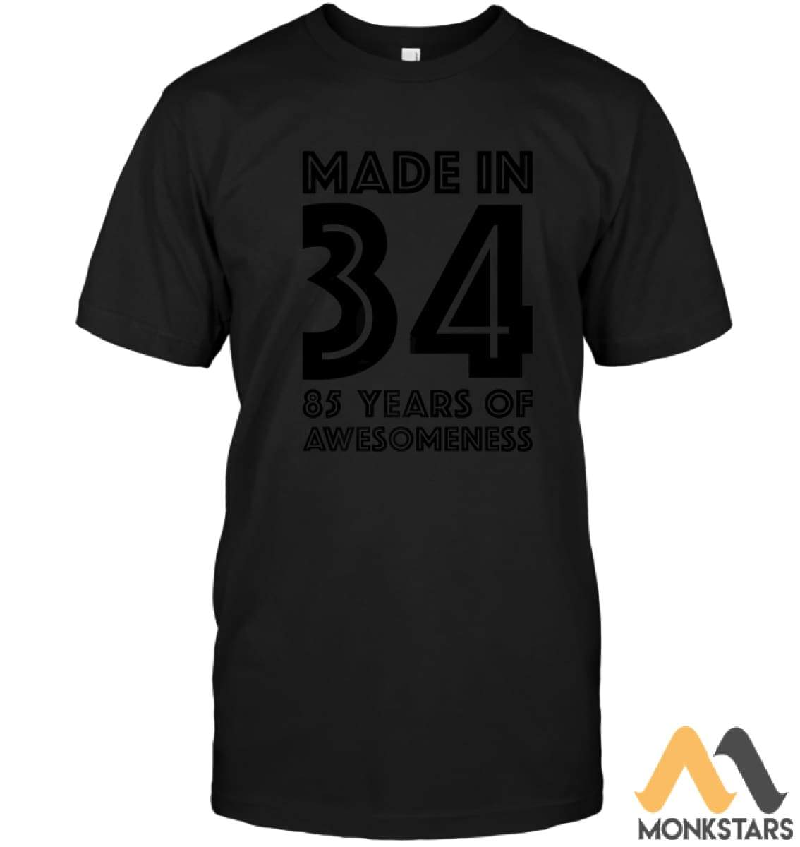 85Th Birthday Tshirt Men Dad Age 85 Year Old Grandpa Gifts Unisex Short Sleeve Classic Tee