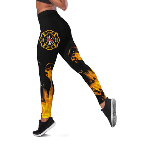 Leggings - Firefighter Symbol