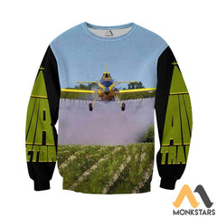 Air Tractor 3D All Over Printed Shirts For Men & Women Long-Sleeved Shirt / S Clothes