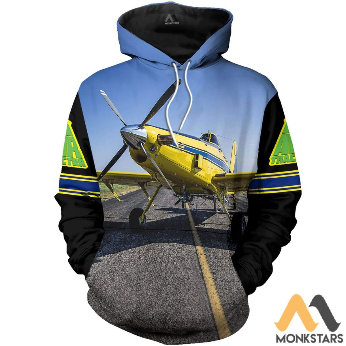 Air Tractor 502Xp 3D All Over Printed Shirts For Men & Women Hoodie / S Clothes