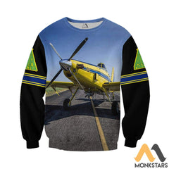 Air Tractor 502Xp 3D All Over Printed Shirts For Men & Women Long-Sleeved Shirt / S Clothes