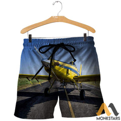 Air Tractor 502Xp 3D All Over Printed Shirts For Men & Women Shorts / S Clothes