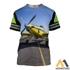 Air Tractor 502Xp 3D All Over Printed Shirts For Men & Women T-Shirt / S Clothes