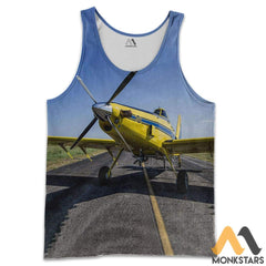 Air Tractor 502Xp 3D All Over Printed Shirts For Men & Women Tank Top / S Clothes