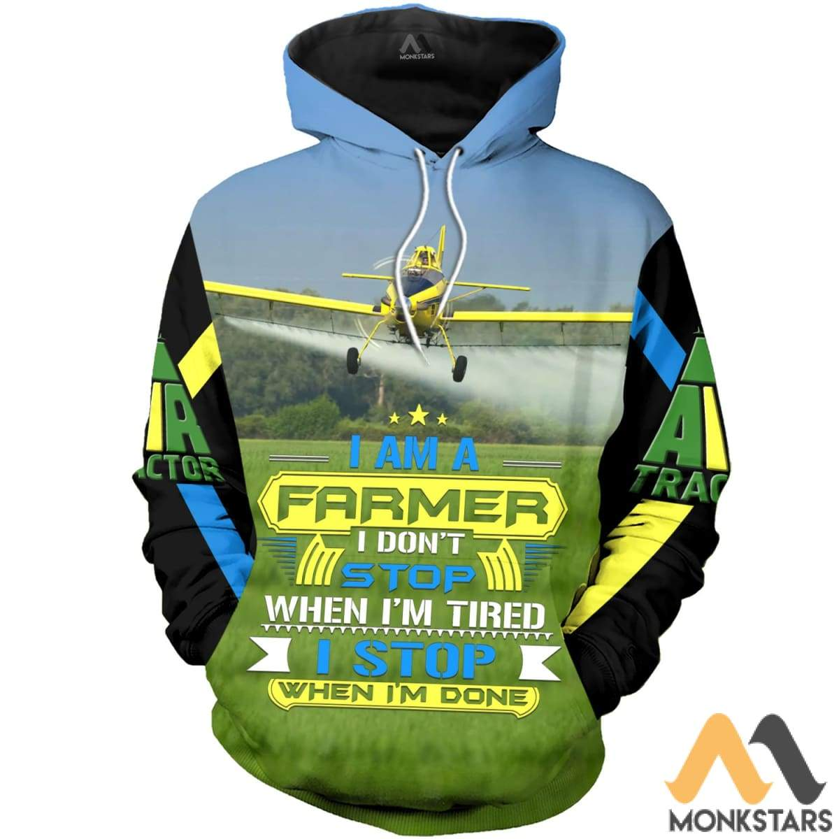 Air Tractor At-502 3D All Over Printed Shirts For Men & Women Hoodie / S Clothes