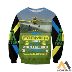 Air Tractor At-502 3D All Over Printed Shirts For Men & Women Long-Sleeved Shirt / S Clothes