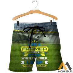 Air Tractor At-502 3D All Over Printed Shirts For Men & Women Shorts / S Clothes