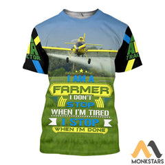 Air Tractor At-502 3D All Over Printed Shirts For Men & Women T-Shirt / S Clothes