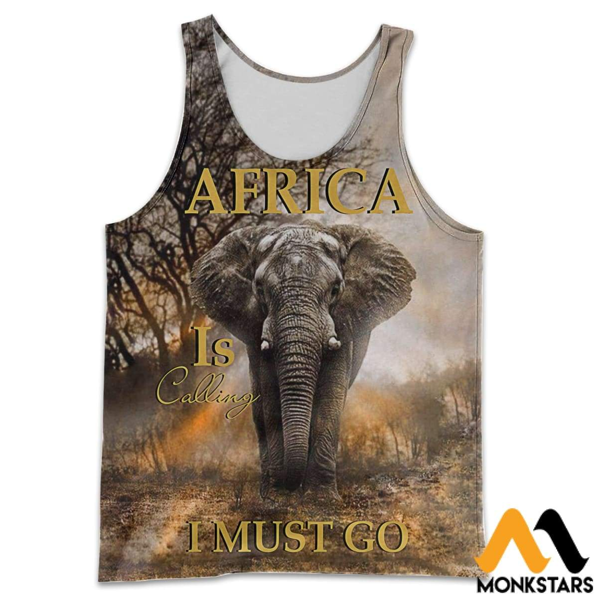 fc50062be777 Report Design. Previous. All Over Printed Elephant In Africa Shirts And  Shorts ...
