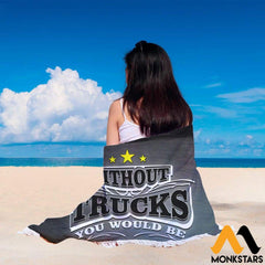 Beach Blanket - Kenworth Truck Trucks