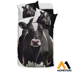Bedding Set - Dairy Cow White / Us Twin Set