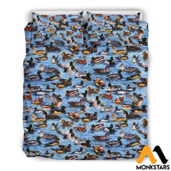 Bedding Set - Duck Black / Queen/full