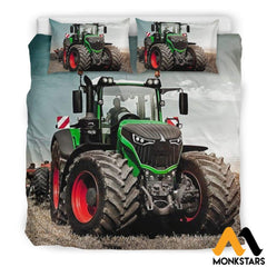 Bedding Set - Fendt Tractor Beige / King