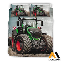 Bedding Set - Fendt Tractor Beige / Queen/full