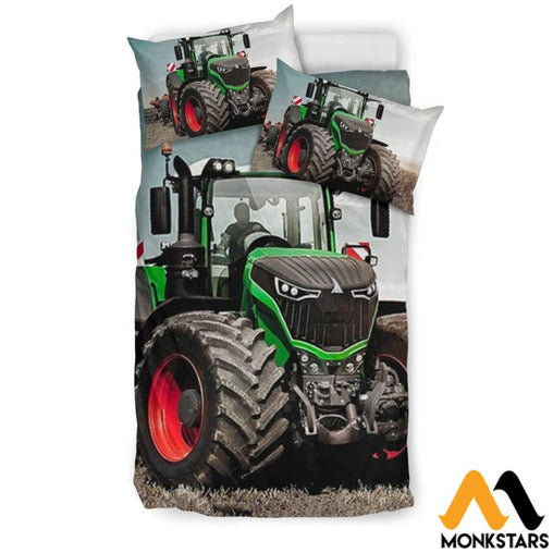 Bedding Set - Fendt Tractor Beige / Twin