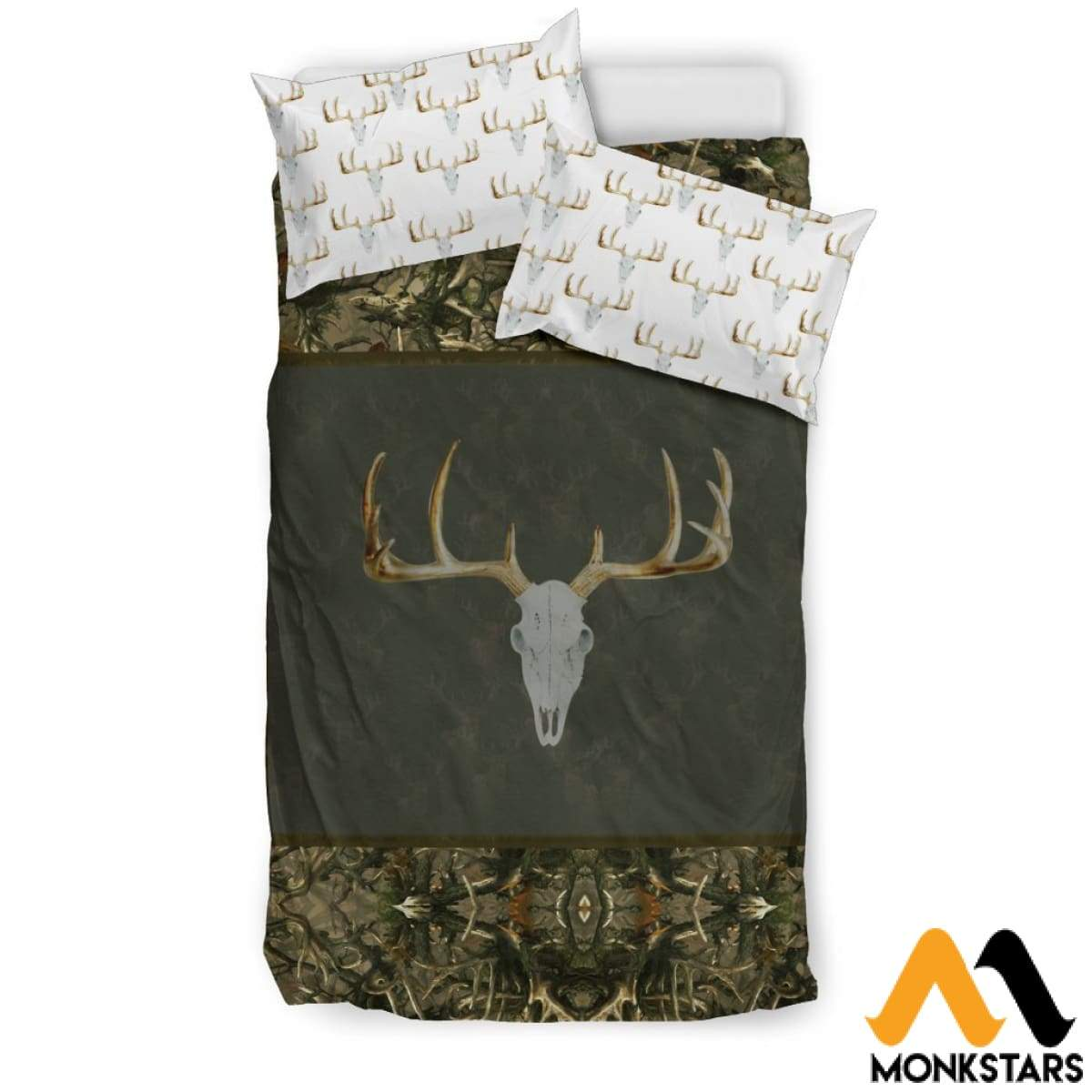 Bedding Set - Hunting Deer Black Beding / Twin