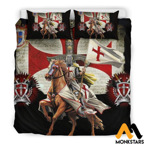 Bedding Set - Knight Templar Black / King