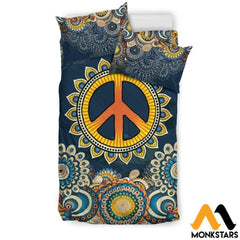Bedding Set - Peace Mandala Set Black / Twin