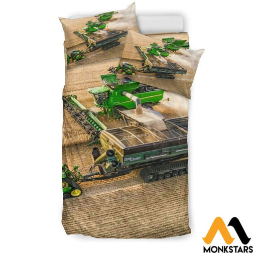 Bedding Set - Tractor Black / Twin