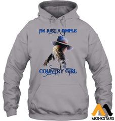 Behind The Country Girl Shirts Sioh270803 Gildan 8Oz. Heavy Blend Hoodie / Sport Grey S