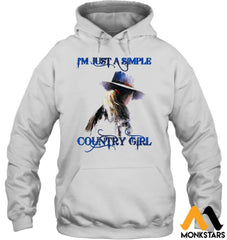 Behind The Country Girl Shirts Sioh270803 Gildan 8Oz. Heavy Blend Hoodie / White S