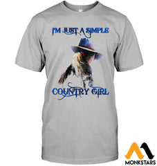 Behind The Country Girl Shirts Sioh270803 Hanes Tagless Tee / Light Steel S