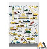 Big Builders And Other Mighty Machines Poster