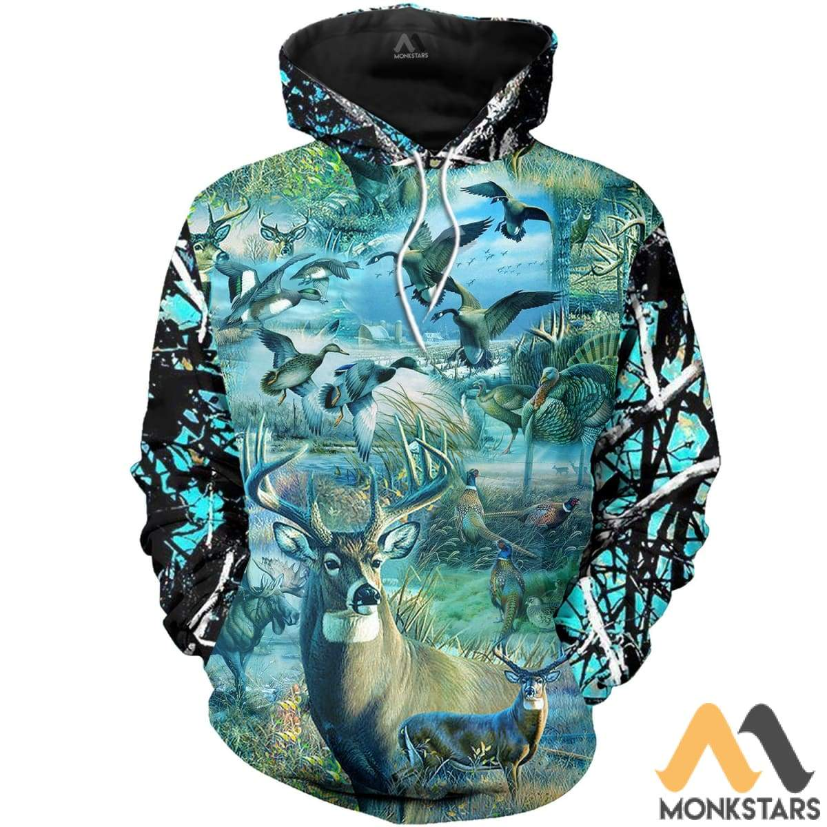 Camo Hunting Animals 3D All Over Printed Shirts For Men & Women Normal Hoodie / Xs Clothes