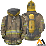 Firefighter Suit 3D All Over Printed Shirts For Men & Women