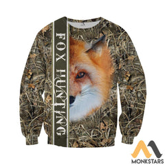 Fox Hunting 3D All Over Printed Shirts For Men & Women Long-Sleeved Shirt / S Clothes
