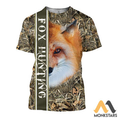 Fox Hunting 3D All Over Printed Shirts For Men & Women T-Shirt / S Clothes